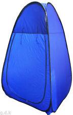 Tentes de camping bleus