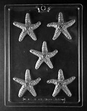 N059 Starfish Chocolate Candy Soap Mold