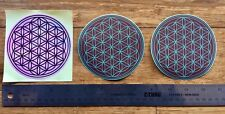 Flower Of Life - Sacred Geometry Sticker Pack #1 - High Quality VERY RARE - NEW!
