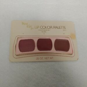 New NIP Vintage Mary Kay Lip Color Palette Great Fashion Plums 0411 Disc'd Rare
