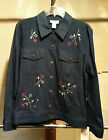 Women's ALFRED DUNNER Denim Jacket SIZE 10 NWT