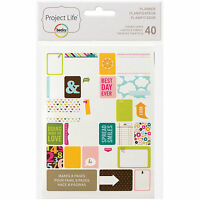 Becky Higgins PROJECT LIFE PLANNER 40-PK Themed Cards scrapbooking 97718