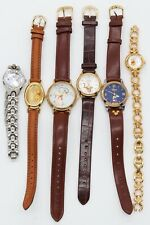 Disney Genuine Leather Watches Lot, Winnie The Pooh, Mickey Mouse & Tigger