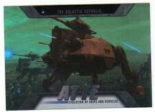 2016 Topps Star Wars Evolution Vehicles and Ships #EV-13 AT-TE