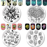 Born Pretty Nail Art Stamping Plates Image Stamp Template  Decor DIY