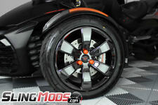 Orange Vinyl Lug Nut Covers for the Can-Am Spyder GS, RS, ST, F3, RT (6pk)