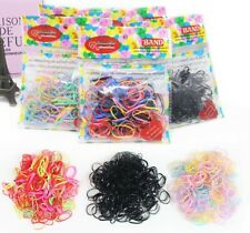 400 x Mini Children Baby Girls Rubber Elastic Hair Bands Bobbles Braids Plaits