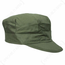 Solid Military 100% Cotton Hats for Men