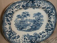 Royal Staffordshire Tonquin Clarice Cliff Serving Platter Made n England 12 X 10
