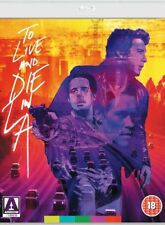 TO LIVE AND DIE IN L.A BluRay, DVD restauré 4K  - Police Fédérale Los Angeles