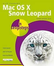 MAC OS X SNOW LEOPARD IN EASY STEPS by Nick Vandome : WH5 : PB858 : NEW BOOK