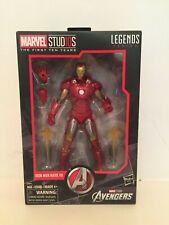 "Marvel Legends Avengers Iron Man 6"" Action Figure Marvel Studios 10th Hasbro MIB"