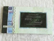 1996 QUEEN ELZABETH II £5 POUND BU BANKNOTE AND £5 CROWN PRESENTATION PACK SET