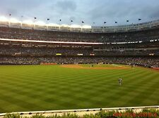 2 KC Royals vs New York Yankees 7/29 Tickets 3rd ROW BLEACHERS Yankee Stadium