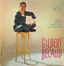"GILBERT BECAUD - L'Absent (1960 VINYL EP 7"" FRANCE)"