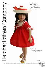 """Top /& Vest  Pattern for 11/"""" Leeann Fletcher Pattern Company Jeans"""