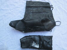 NBC Overboots MK4, ABC Protection boots, black,Size Medium, dated Sept 1993