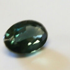 Natural Australian earth-mined green/yellow oval sapphire...0.77 carat