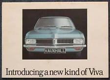 VAUXHALL VIVA Range Car Sales Brochure 1971 #V1971/3/71