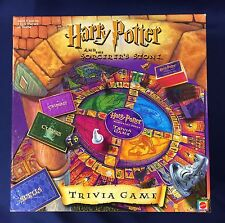 HARRY POTTER and the Sorcerer's Stone Trivia Game Mattel 100% Complete
