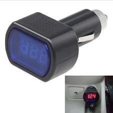 Digital LED Auto Car Cigarette Lighter Volt Voltage Gauge Meter Monitor 12V 24V