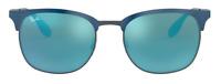 Ray-Ban Damen Herren Sonnenbrille RB3538 189/55 53mm Etui  338 T42 H