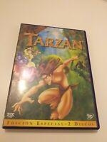 dvd  Tarzan de walt Disney  edicion especial 2 discos