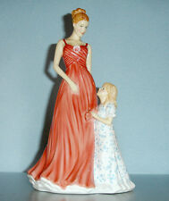 Royal Doulton TIME TOGETHER Mothers Figurine of The Year 2015 #HN5728 New