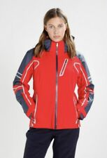 Spyder Women's Vintage Rad Pad Jacket Red/Frontier Sz 6 MSRP $500 Thinsulate