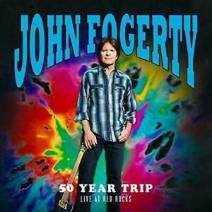 JOHN FOGERTY -50 YEAR TRIP: LIVE AT RED ROCKS -  2LP NEW SEALED