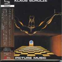 KLAUS SCHULZE-PICTURE MUSIC-JAPAN MINI LP SHM-CD BONUS TRACK H25