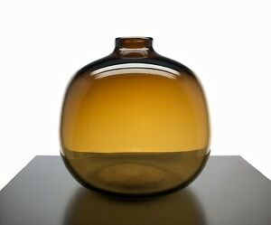 Glass Vase Jug Style Brown Crate And Barrel