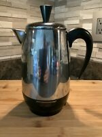 Vintage Farberware Superfast 138B 8-Cup Percolator~Sparkling Clean~Tested~Fast!