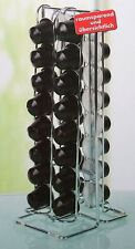 Edelstahl Kapselhalter/Kapselspender Aufbewahrung für 32 Nespresso Kapseln