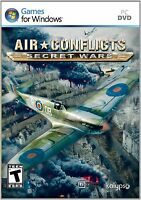 Air Conflicts: Secret Wars PC WWII Flight simulator Game - New