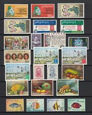 (RP72) PHILIPPINES - 1972 COMPLETE YEAR STAMP SETS. MUH