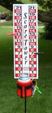 Portable Scoreboard for Cornhole, Horseshoes,Bocce Ball