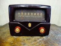 Vintage Mallory TV-101 UHF Television Converter Bakelite