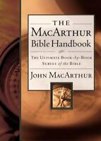 The MacArthur Bible Handbook (Hardback or Cased Book)