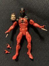 """Marvel Legends Scarlet Spider Kaine Parker Sp Dr Baf Spiderman 6"""" comic figure"""