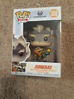 Funko Pop! Overwatch Junkrat Vinyl Figure Blizzard Games #308 Damaged Box