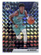 2019-20 Panini Mosaic #219 Ja Morant Silver Mosaic rookie card Grizzlies