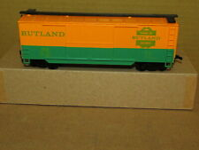 RUTLAND BOX CAR BY IHC/MEHANO IN HO SCALE AND IS FACTORY ORIGINAL NEW