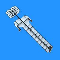 ATLAS 700108  SD24 HO Handrail Set Plastic OLDER ROCO VERSION SD-24