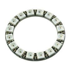 16-Bit RGB LED Ring WS2812 5050 RGB LED + Integrated Drivers For Arduino Kj