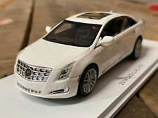 Luxury Collectibles 1/43 2014 Cadillac XTS Resin Model Car White