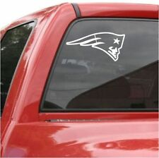 "2 UNITS  New England PATRIOTS 6"" Decal Vinyl Car Truck DECAL Window STICKER"