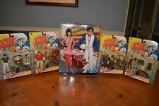 Speed Racer Set Of Series 1 Action Figures + Barbie & Ken Special Two Pack Deal