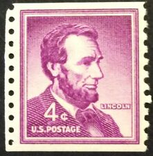 4c Lincoln Single in the Liberty Series, Scott #1058, MNH, VF