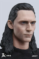 1/6 Avengers LOKI Rocky Head Carving Model JXTOYS-027 Collection F Action Figure